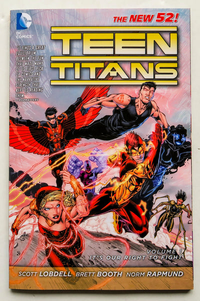 Teen Titans Vol. 1 It's Our Right To Fight The New 52 DC Comics Graphic Novel Comic Book