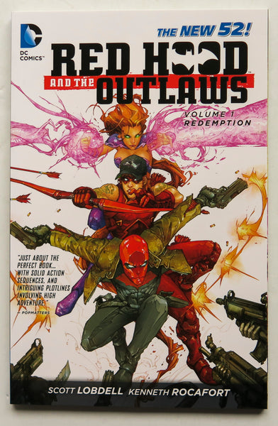 Red Hood and The Outlaws Vol. 1 Redemption The New 52 DC Comics Graphic Novel Comic Book