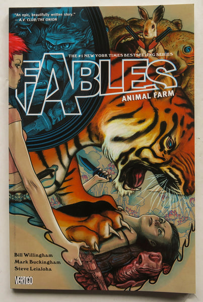 Fables Vol. 2 Animal Farm Vertigo Graphic Novel Comic Book
