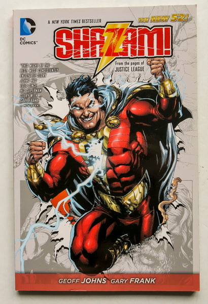 Shazam Vol. 1 From the Pages of Justice League The New 52 DC Comics Graphic Novel Comic Book