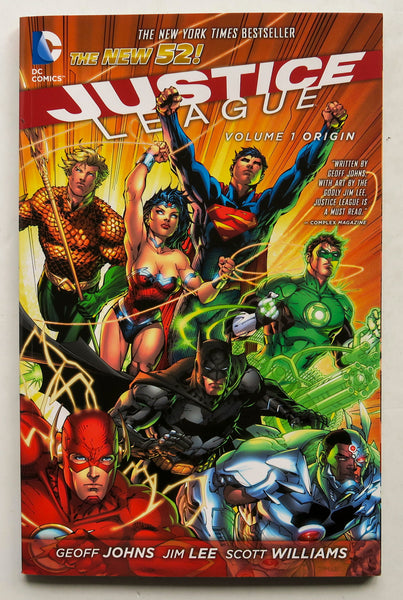 Justice League Vol. 1 Origin The New 52 DC Comics Graphic Novel Comic Book
