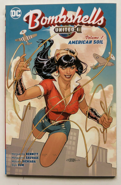 Bombshells United Vol. 1 American Soil DC Comics Graphic Novel Comic Book