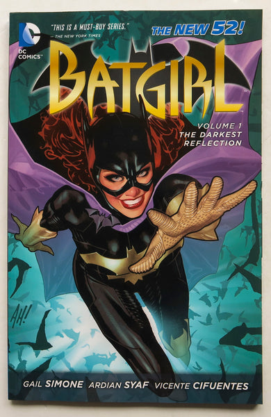 Batgirl Vol. 1 The Darkest Reflection The New 52 DC Comics Graphic Novel Comic Book