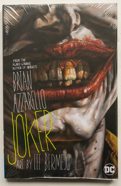 Joker Brian Azzarello Lee Bermejo DC Comics Graphic Novel Comic Book