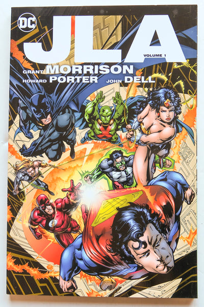 JLA Deluxe Edition Vol. 1 DC Comics Graphic Novel Comic Book