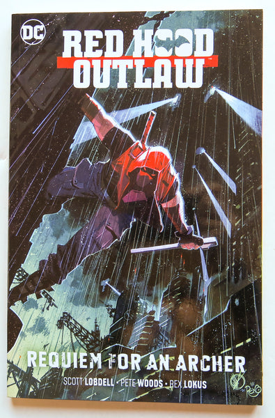Red Hood Outlaw Vol. 1 Requiem For An Archer DC Comics Graphic Novel Comic Book