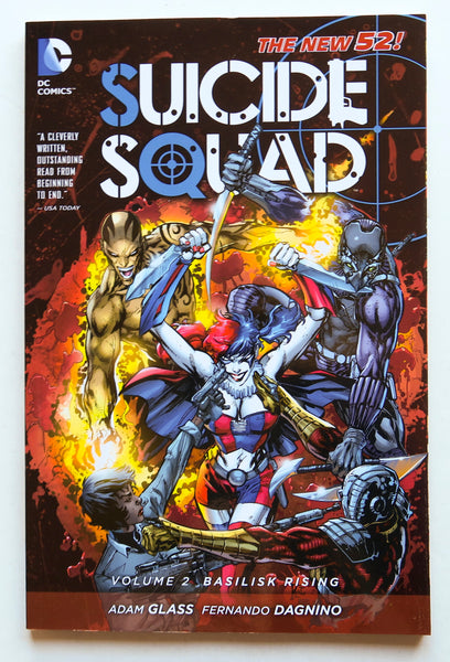 Suicide Squad Vol. 2 Basilisk Rising The New 52 DC Comics Graphic Novel Comic Book