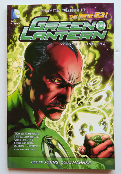 Green Lantern Vol. 1 Sinestro DC Comics Graphic Novel Comic Book