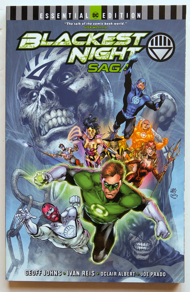 DC Essential Edition Blackest Night Saga DC Comics Graphic Novel Comic Book