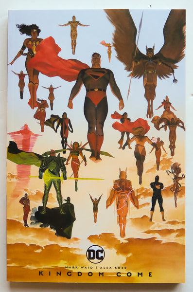 Kingdom Come DC Comics Graphic Novel Comic Book