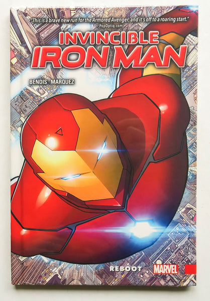 Invincible Iron Man Reboot Vol. 1 Marvel Now Graphic Novel Comic Book