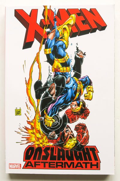 X-Men Onslaught Aftermath Marvel Graphic Novel Comic Book