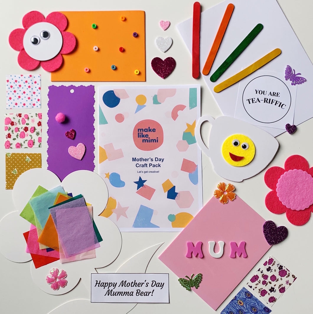 Mother's Day Craft Pack