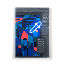 Load image into Gallery viewer, Desert Design Tool 1 (Wood Panel)