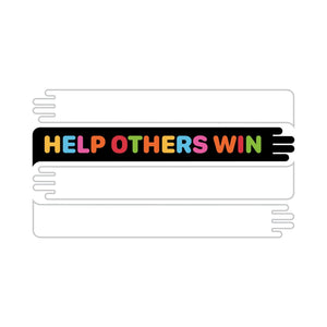 Help Others Win (Tee) White