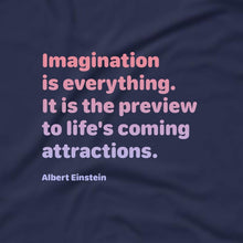 Load image into Gallery viewer, Imagination Through My Eyes (Tee) Black