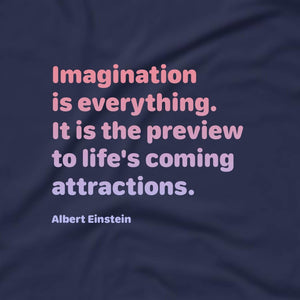 Imagination Through My Eyes (Tee) Black