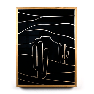 Lost at Night 2 (Wood Panel)
