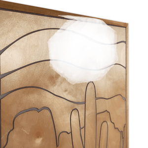 Natural Desert 1 (Wood Panel)