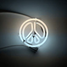Load image into Gallery viewer, Peace (Neon Sign)