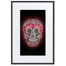 Load image into Gallery viewer, Skull DDLM1 (Frame) Black 24.0 x 35.8 inch (61×91 cm)