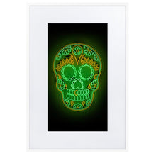Load image into Gallery viewer, Skull DDLM2 (Frame) White 61×91 cm