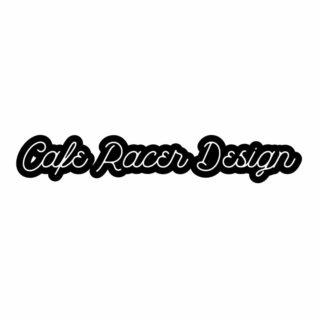 Sticker Cafe Racer Design Script