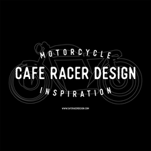 Load image into Gallery viewer, Tee Cafe Racer Design Sketch