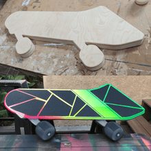 Load image into Gallery viewer, Where It Started Skateboarding (Wood Panel)