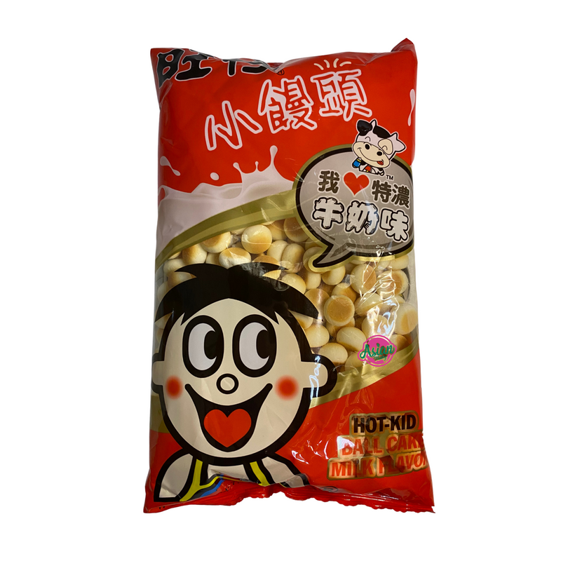 Hot Kid Milk Ball Biscuit 210g - Asian PantryHot Kid Asian Groceries