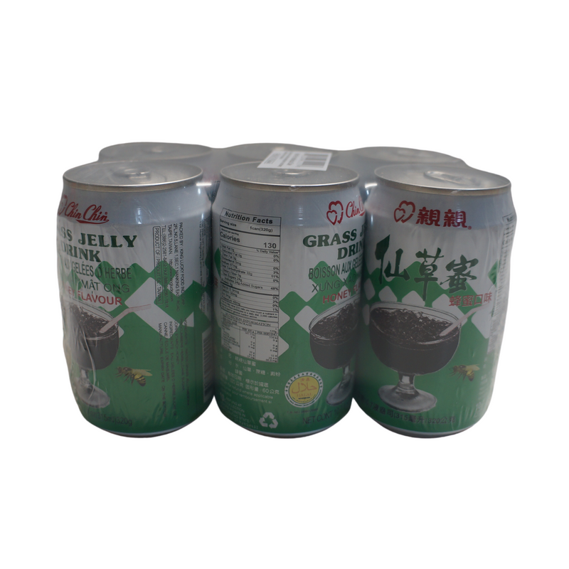 Chin Chin Grass Jelly Drink Honey 6 Pack 1890ml - Asian PantryChin Chin Asian Groceries