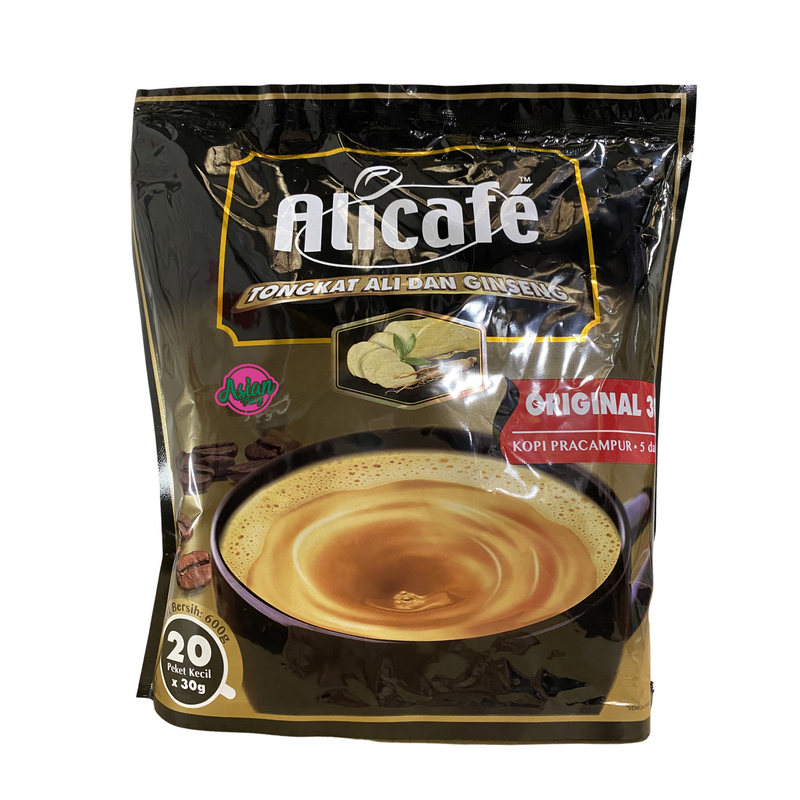 Alicafe Instant Coffee with Ginger 600g Front