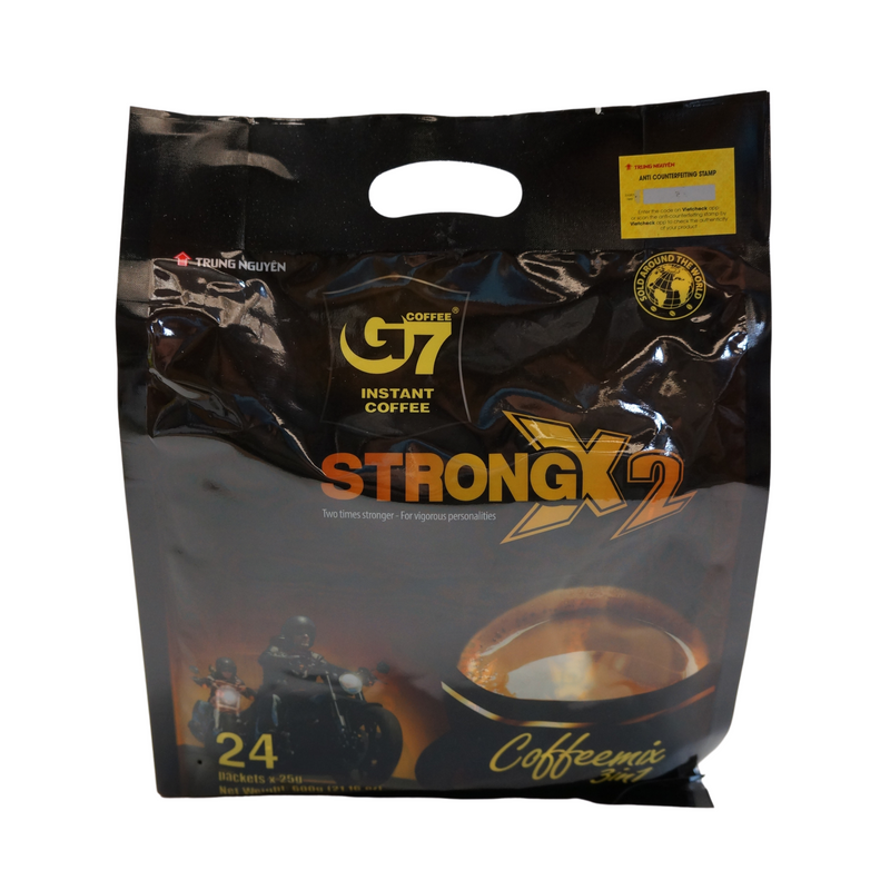 Trung Nguyen G7 Instant Coffee 2x Strength 600g Front