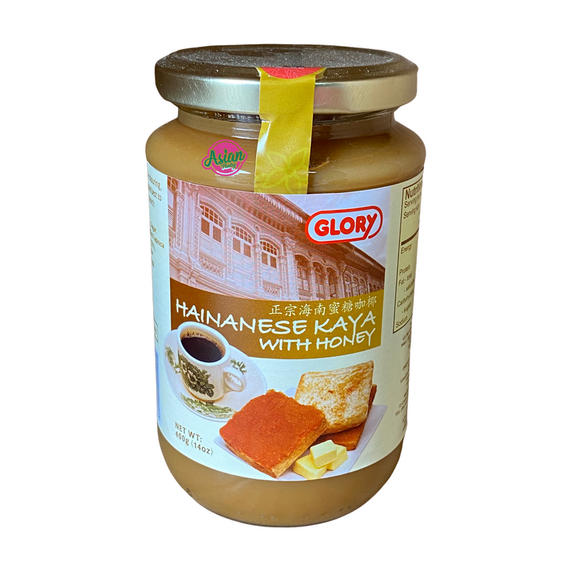 Glory Hainanese Kaya with Honey 400g Front