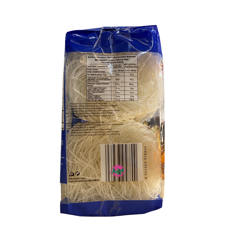 Acecook Oh Ricey Rice Vermicelli 400g Back