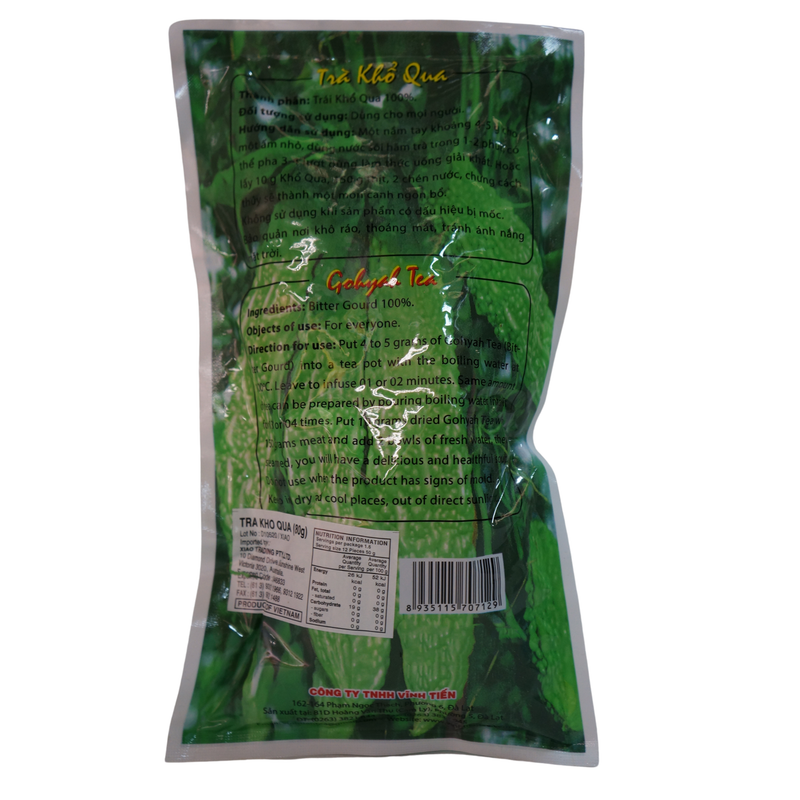 Vinh Tien Gohyah Tea (Bitter Gourd) 80g - Asian PantryVinh Tien Asian Groceries