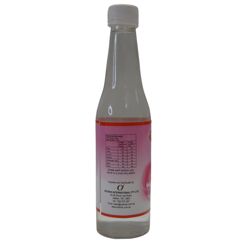Maharajah's Choice Rose Water 250ml Nutritional Information & Ingredients