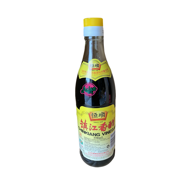 Heng Shun Chinkiang Vinegar 550ml Front