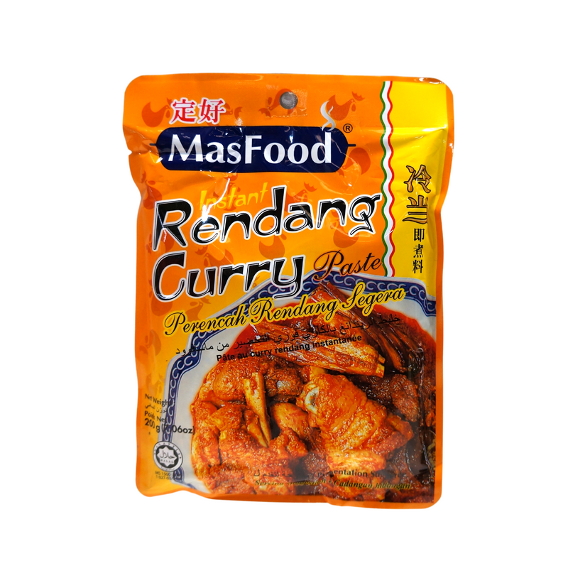 MasFood Rendang Curry Paste 200g Front
