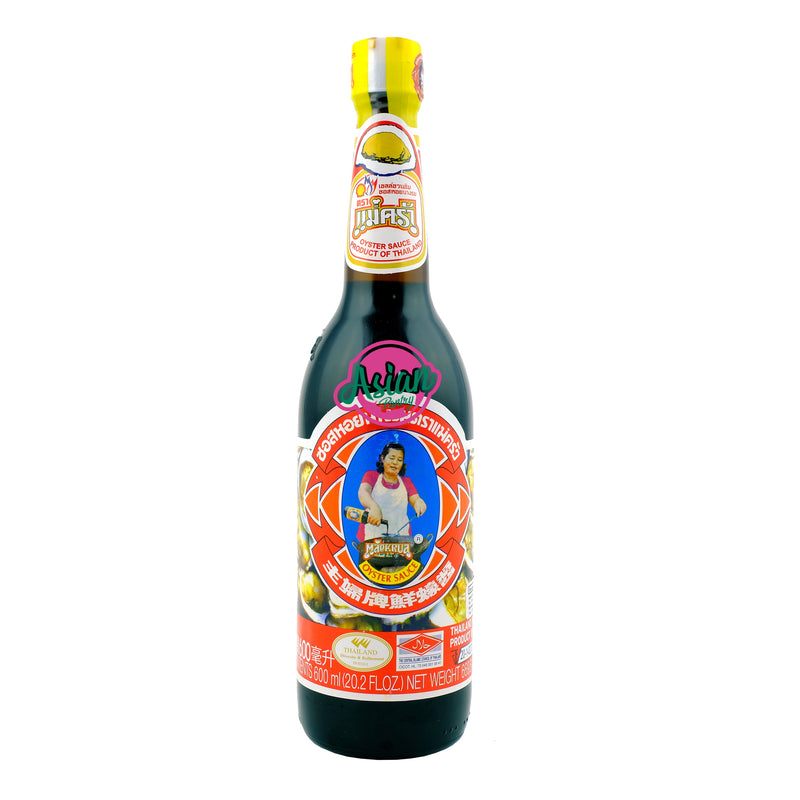 Maekrua Oyster Sauce 600ml - Asian PantryMaekrua Asian Groceries