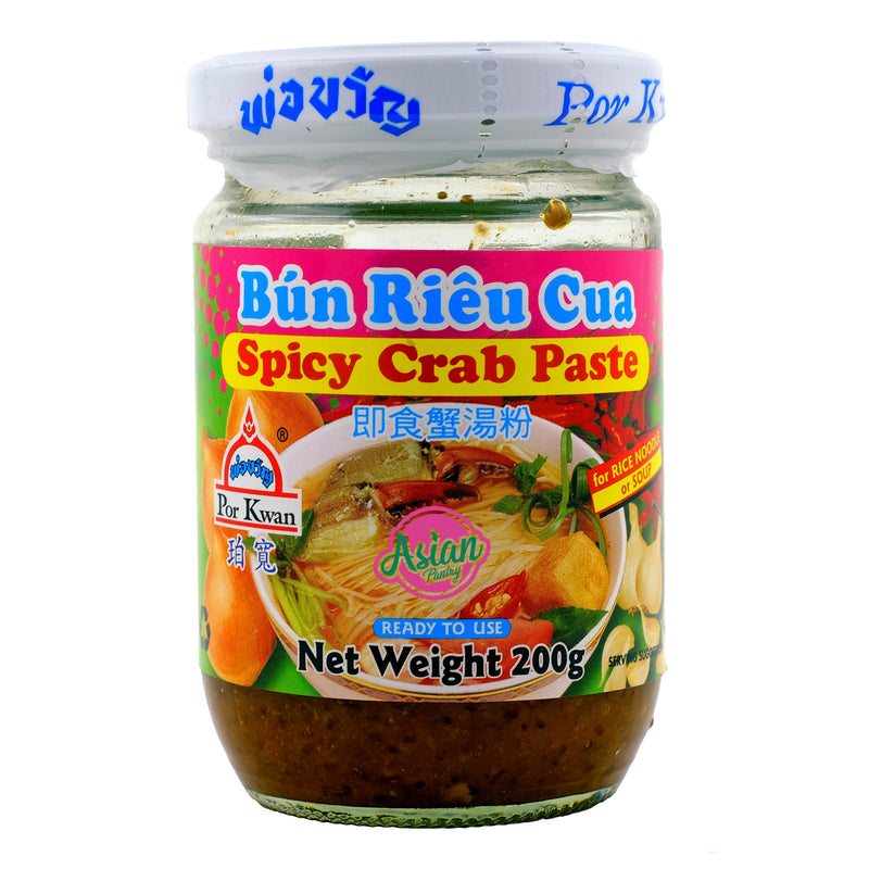Porkwan Spicy Crab Paste 200g Front