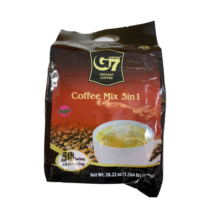 Trung Nguyen G7 Instant Coffee Mix 3 in 1 800g Front