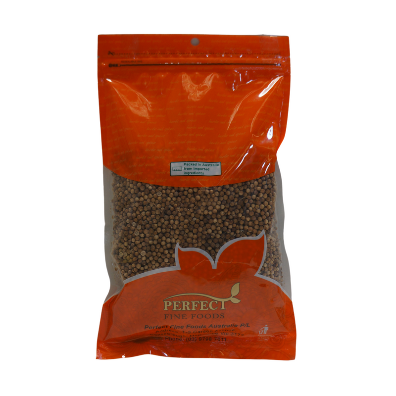 Perfect Fine Foods Coriander Seeds 200g Back