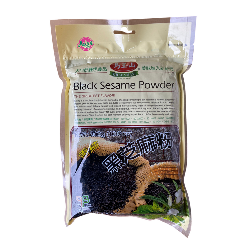 Greenmax Black Sesame Powder 300g Front