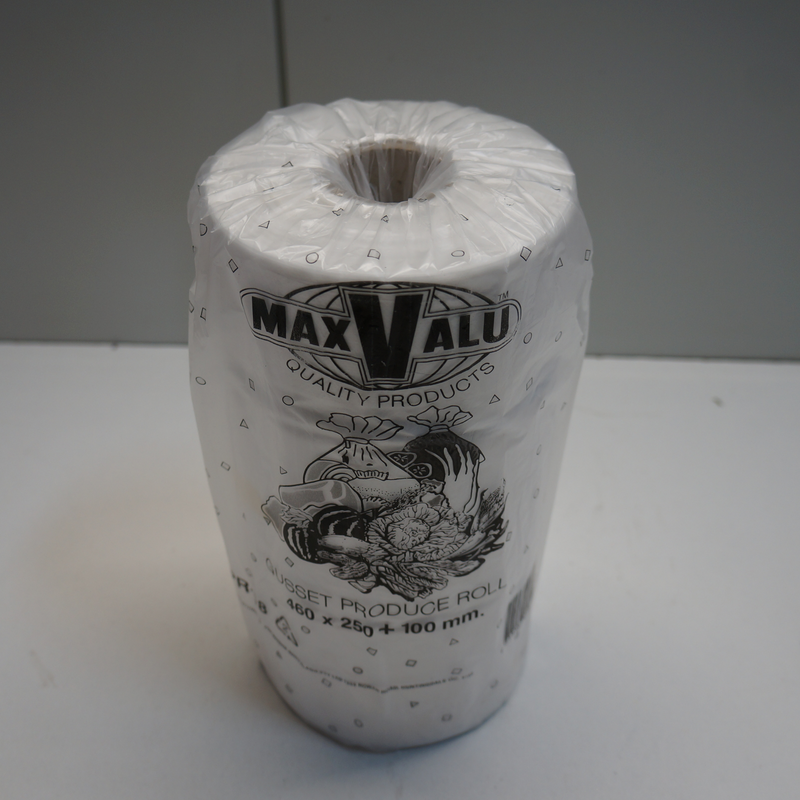 Max Valu Gusset Produce Rolls 460x250+100mm 1roll Back