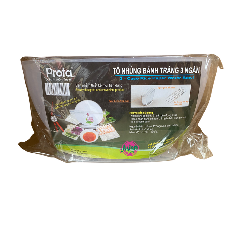 Prota 3 Case Rice Paper Water Bowl 1pc Front