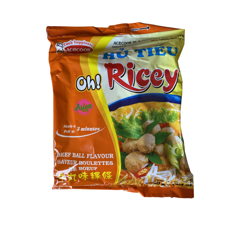 Oh Ricey Beef Ball Flavour 70g - Asian PantryOh Ricey Asian Groceries