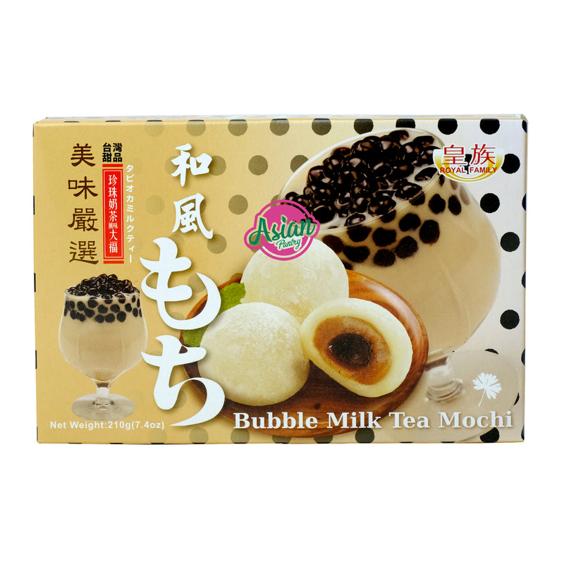 Royal Family Bubble Milk Tea Mochi 210g Front