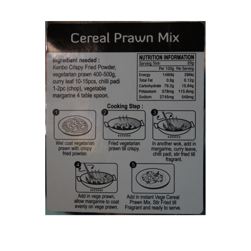 VVF Cereal Prawn Mix 70g - Asian PantryVVF Asian Groceries