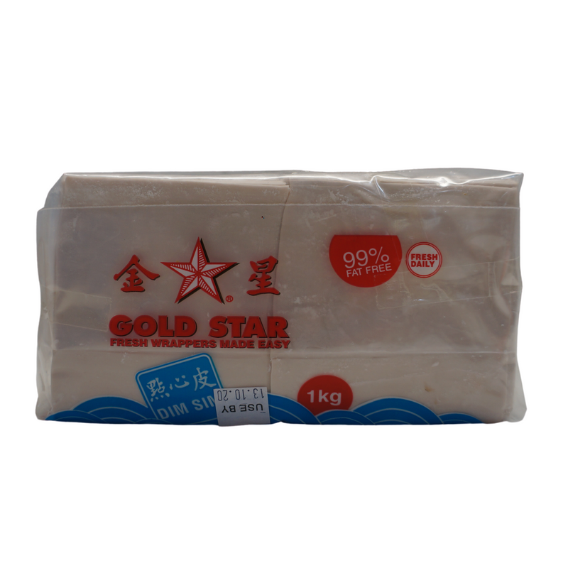 [FRESH] Gold Star Dim Sim Wrappers 1kg Front
